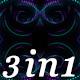 Blink Pink - VJ Loop Pack (3in1) - VideoHive Item for Sale