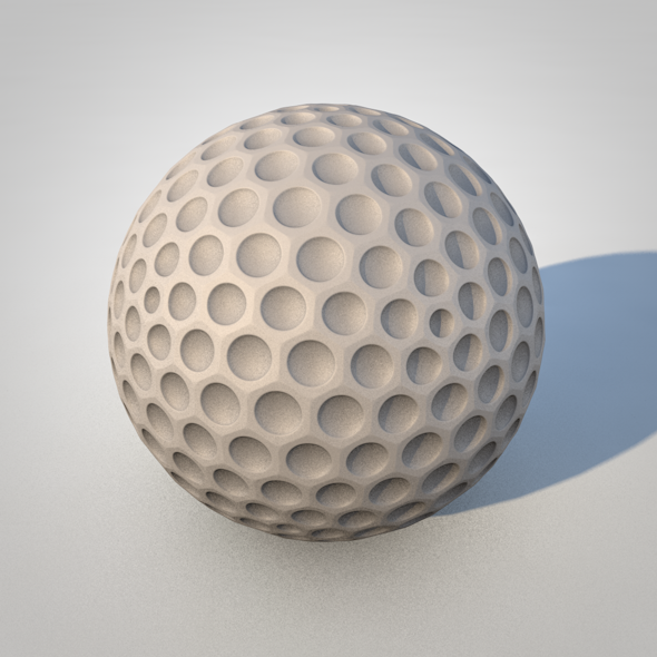 Golfball - 3DOcean Item for Sale