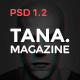 Tana Magazine - PSD Template - ThemeForest Item for Sale