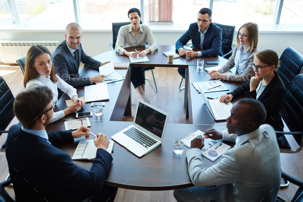 Meeting of shareholders - Stock Photo - Images