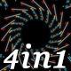 Neon Light - VJ Loop Pack (4in1) - VideoHive Item for Sale