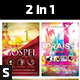 Gospel Praise Extravaganza Church Flyer - GraphicRiver Item for Sale