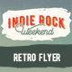 Indie Retro Flyer No 1 - GraphicRiver Item for Sale