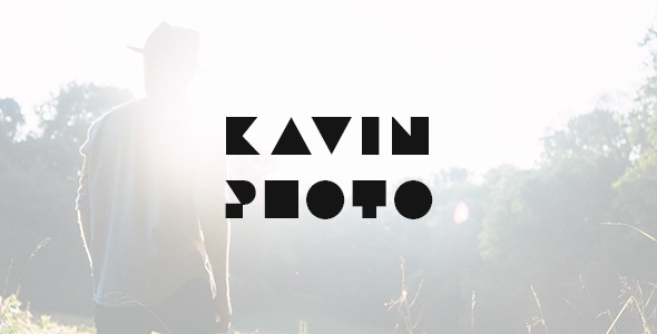 Image of Kavin - Photography Blog Joomla Template