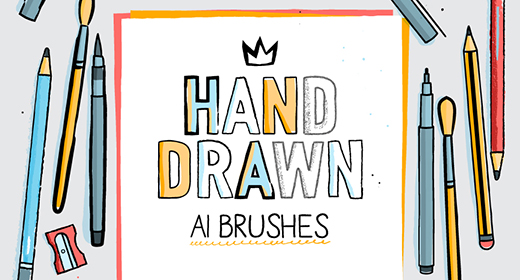 Hand Drawn AI Brushes