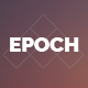 Epoch – Coming Soon Template - ThemeForest Item for Sale