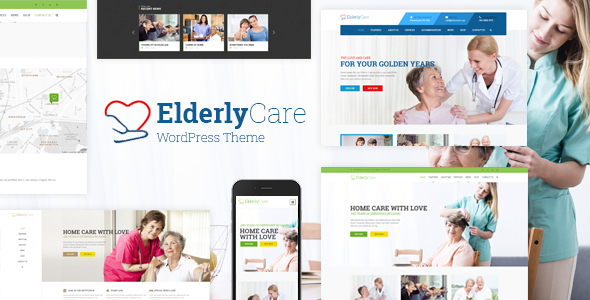 Elderly Care - Medical, Health and Senior Care WordPress Theme