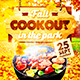 BBQ Party Flyer vol.4 - GraphicRiver Item for Sale