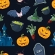 Vector Illustration of Halloween Icons Set - GraphicRiver Item for Sale