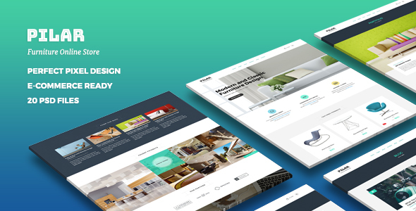Pilar – Multipurpose PSD Site Template
