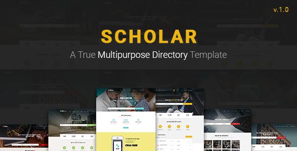 Scholar – Multipurpose Directory Template