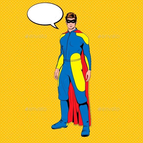 Vector Comic Superhero - Miscellaneous Characters