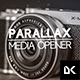 Parallax Media Opener - VideoHive Item for Sale