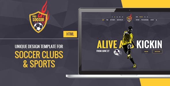 Soccer Acumen – Soccer and Football Club HTML Template