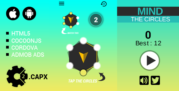 Mind the circles - CodeCanyon Item for Sale