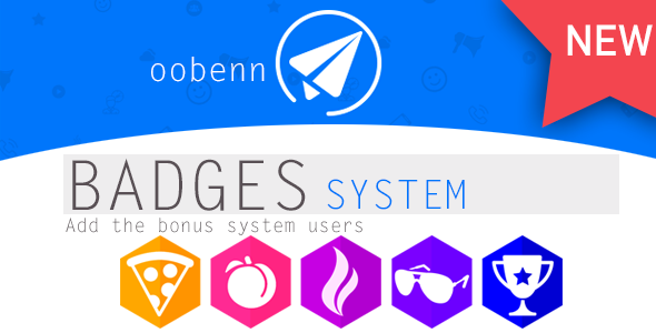 BADGES SYSTEM for OOBENN - CodeCanyon Item for Sale