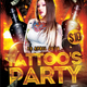 Tattoo Party - GraphicRiver Item for Sale