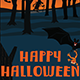 Halloween Dark Forest Background - GraphicRiver Item for Sale