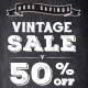 Chalk Vintage Sale Web Banner Ads - GraphicRiver Item for Sale