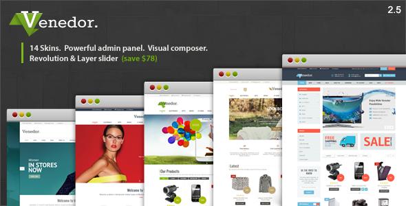 Venedor - WordPress + WooCommerce Theme - WooCommerce eCommerce