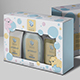 Baby Bubbles Box and Label - GraphicRiver Item for Sale