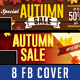 Autumn Fall Sale Facebook Cover - GraphicRiver Item for Sale