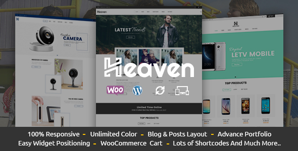 Heaven - Responsive WooCommerce Theme