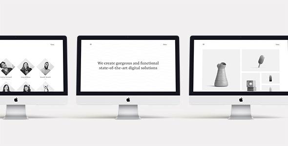 Vava – Minimalistic Multipurpose Portfolio Template