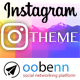 INSTAGRAM Theme - OOBENN - CodeCanyon Item for Sale