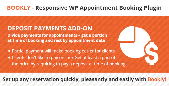 Bookly Deposit Payments (Add-on) nulled free download