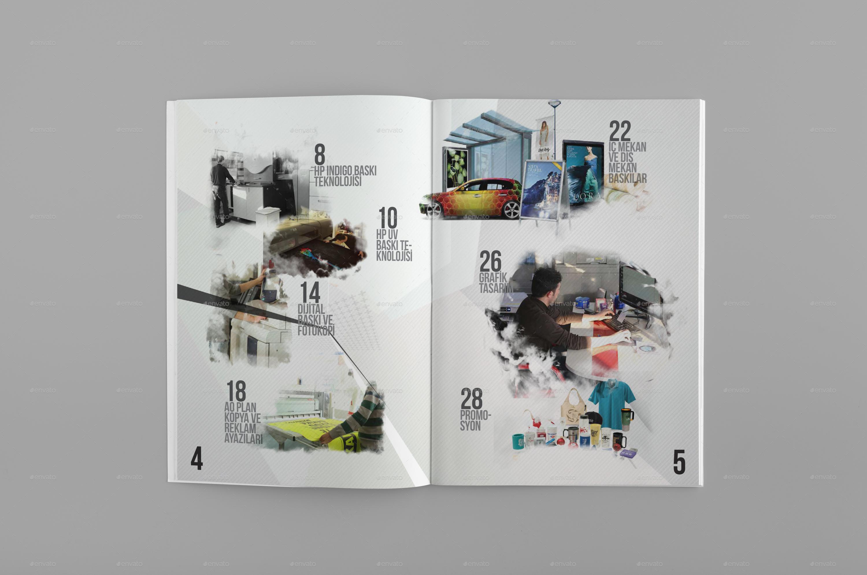 Color Catalog Template | Indesign Template by ilterturkmen ...