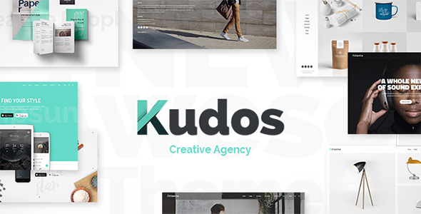 Kudos – A Fresh Theme for Creative Businesses & Individuals