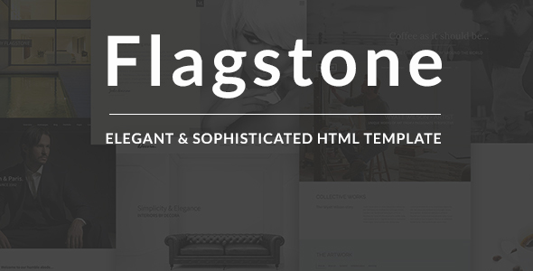Flagstone – Creative Multi-use HTML Template