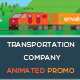 Transportation Company Animated Promo - VideoHive Item for Sale