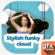 Stylish Funky Cloud Slideshow - VideoHive Item for Sale