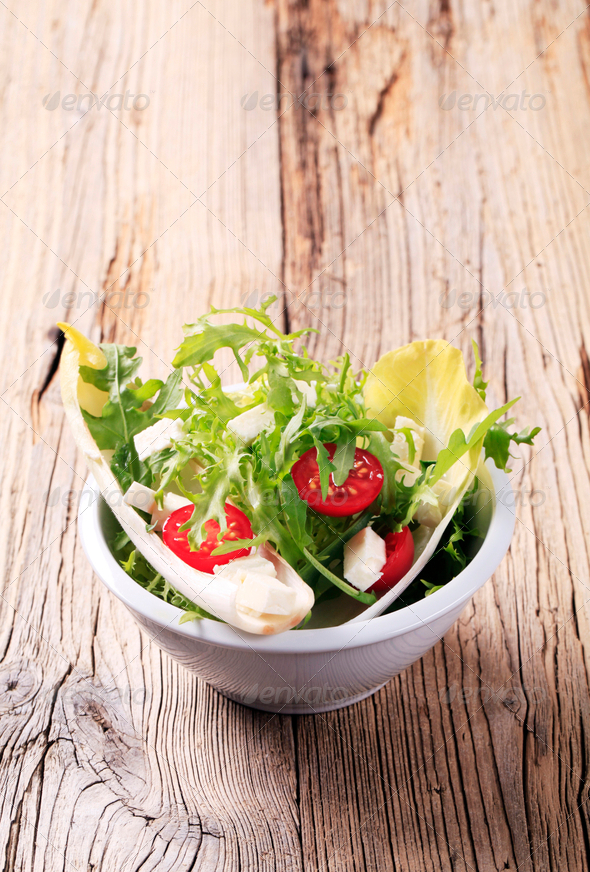 Light salad - Stock Photo - Images