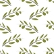 Seamless Olive Bunch Fabric Pattern. Pastel Colors - GraphicRiver Item for Sale