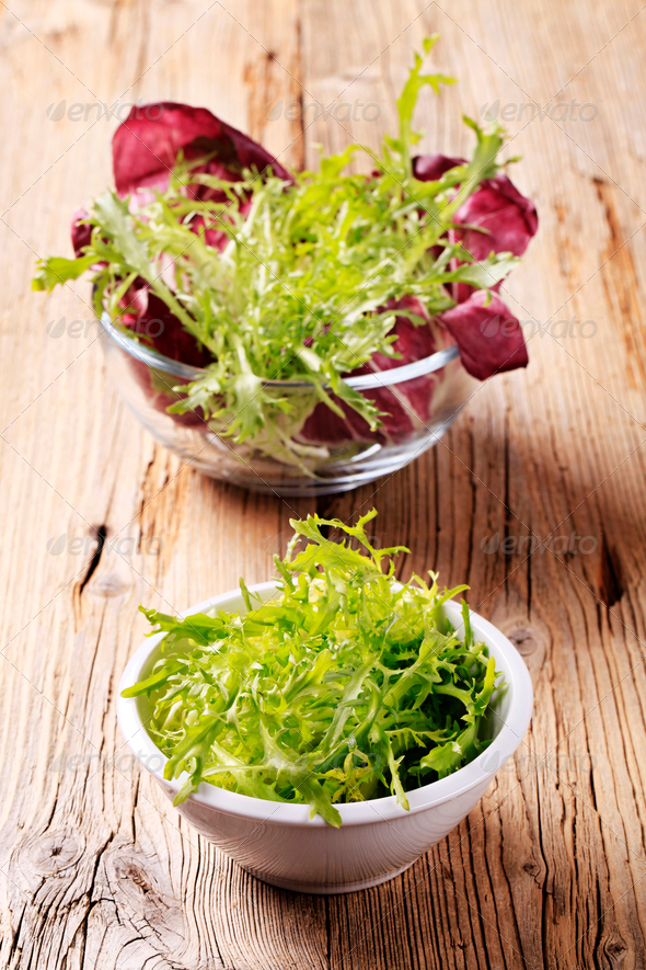 Salad greens - Stock Photo - Images