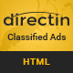 DirectIn – Classified Ads Listing Template for Directory, Realty, Property and Yellow Pages Nulled