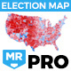 Election Map PRO - VideoHive Item for Sale