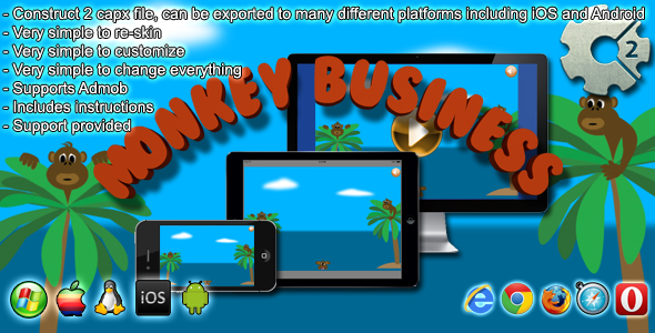 Monkey Business - CodeCanyon Item for Sale