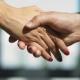 Businessmans Handshake. Successful Businessmen Handshaking After Good Deal - VideoHive Item for Sale