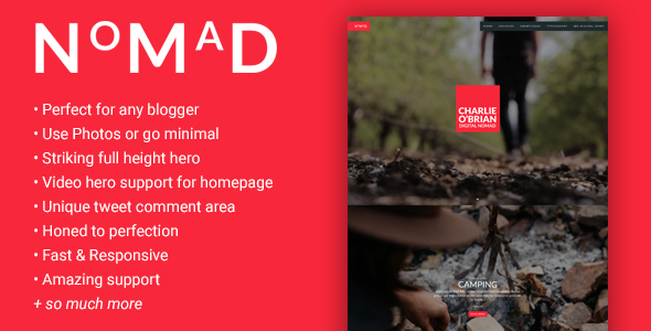 NMD - A Theme for the WordPress Blogger - Blog / Magazine WordPress