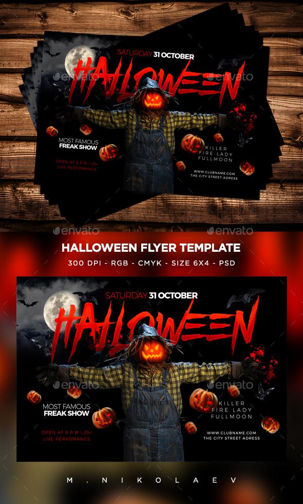 Halloween Flyer V19