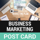 Business Marketing Post Card