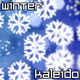 Winter Snowflakes Background - VideoHive Item for Sale