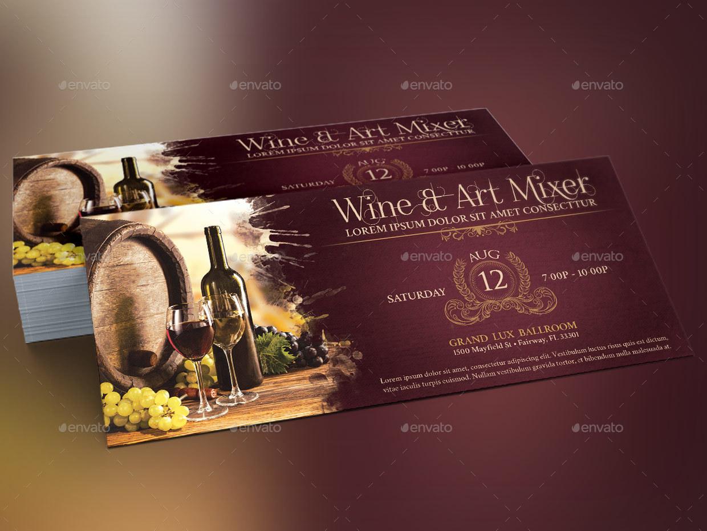 wine template - Wine Brochure Template Free
