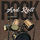 Rock and Roll - Flyer Template