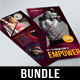 4 in 1 DL Sport Activity Flyer Bundle - GraphicRiver Item for Sale