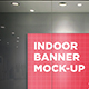 Indoor Banner Mock-Up - GraphicRiver Item for Sale